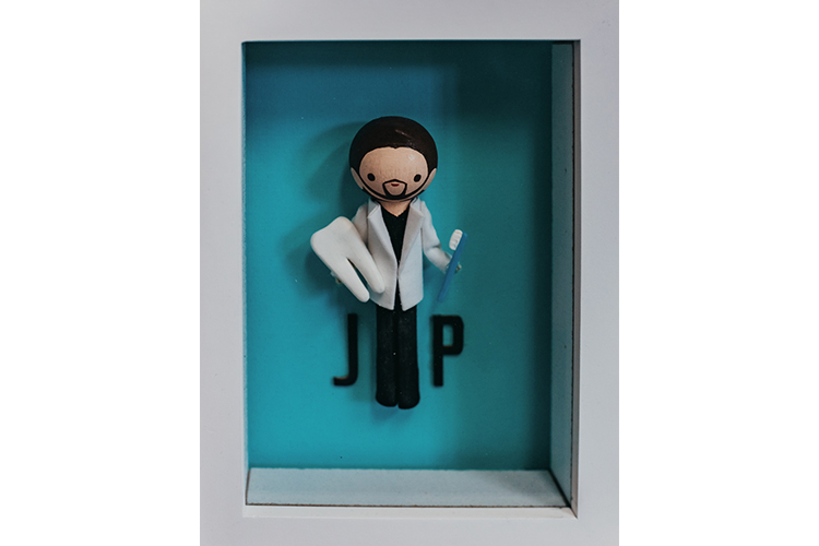 Figurine of Dr. Pogue